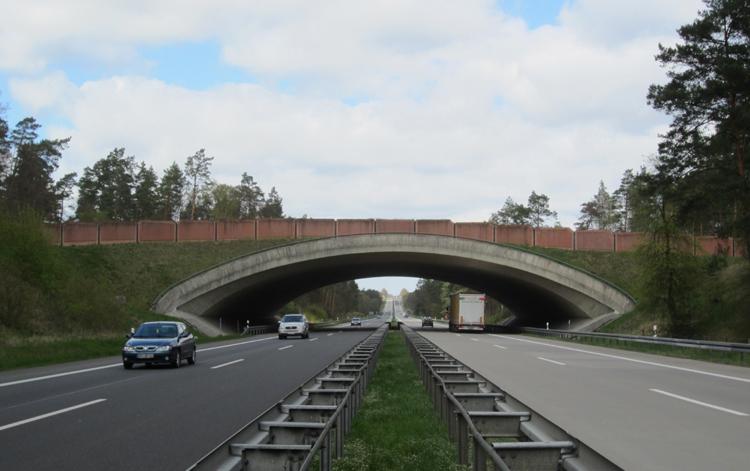 05 Gruenbruecke Autobahn Berlin Stettin BW 26 Ue3